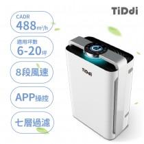 【防疫必買】TiDdi 智慧感應即時監控空氣清淨機 P680
